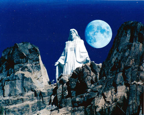 Our Lady in the Moonlight