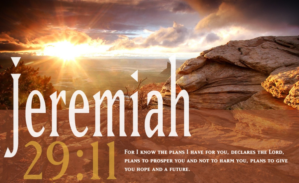 jeremiah, plans for a hope and a future