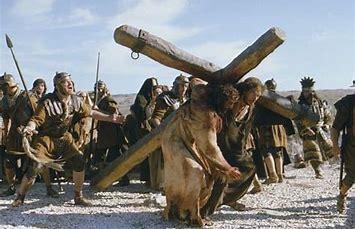 simon helping jesus
