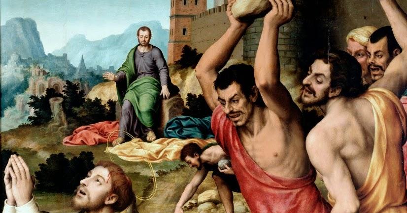 The Martyrdom of Saint Stephen - Juan de Juanes