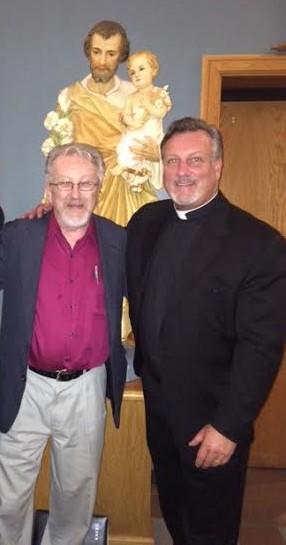 Nashville - Fr. Dan and me
