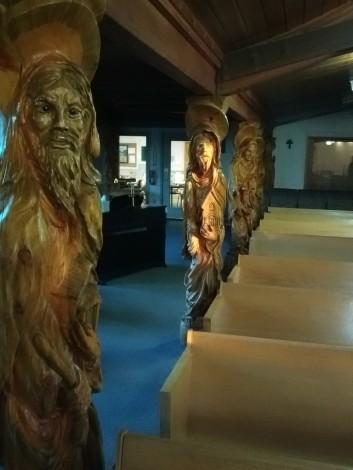 Sculpted Pillars