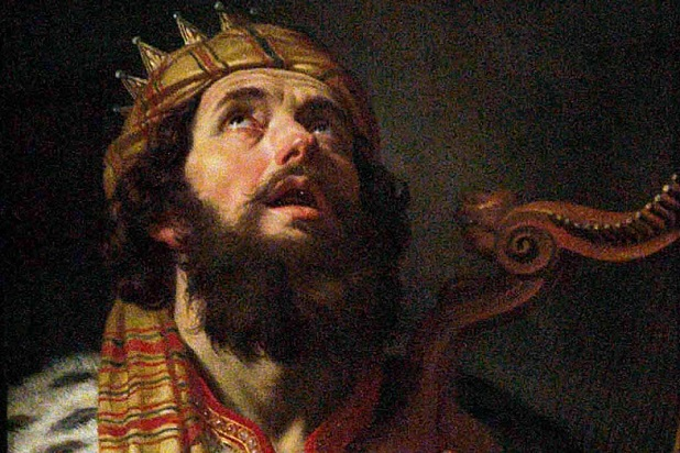 King-David - Gerard van Honthorst