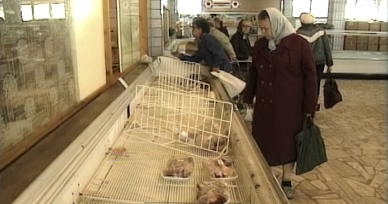 Soviet grocery store