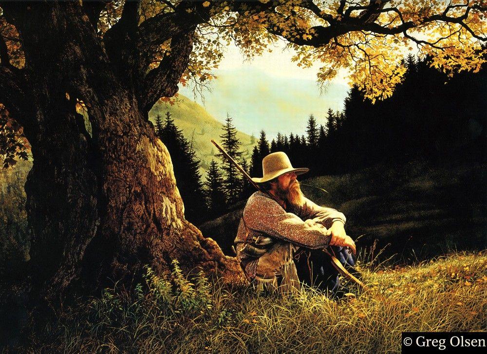 The Thinking Tree - Greg Olsen